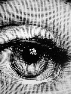 "loverofbeauty: "" Piero Frornasetti's Icon Eye "" http://www.torildartistes.com/blog-2/inspiration/"
