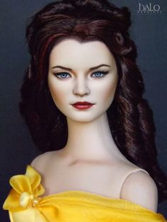 Dressed OOAK Tonner Doll OUAT *Belle* by Halo Repaints