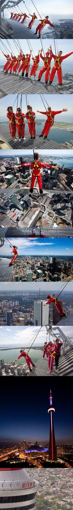 The Edge Walk in Toronto Canada Ailleurs communication, www.ailleurscommu…