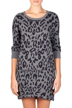 Obsessed with animal prints this season - Leopard Print Tunic - CR