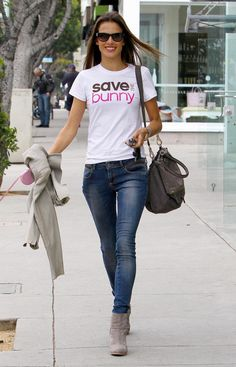 Alessandra Ambrosio - Montana Ave in Santa Monica, March 2013