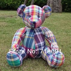 Image result for Printable Teddy Bear Pattern for Patchwork