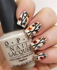 Thanksgiving Day Nails                                                       …