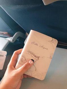Cute Handmade Gift Leather Customize Passport Covers Bisu Bisu Air Balloon Personalizable Passport Holder Travel Gift