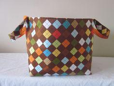 Extra Large Fabric Storage Bin Toy Organizer by SarahsFabCreations, $22.00