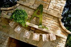 Large MOSS covered Letter 24' by Itsinitiallyyours on Etsy, $44.00