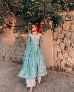 indian designer wear Latest Partywear Kurti Designs - All About The Woman Pakistani Dresses Casual, Indian Gowns Dresses, Indian Fashion Dresses, Dress Indian Style, Pakistani Dress Design, Indian Designer Outfits, Party Wear Indian Dresses, Dresses For Women, Beautiful Pakistani Dresses
