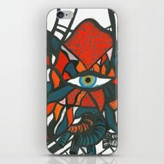 Butterfleye-Strawberry iPhone Skin Iphone Skins, Strawberry, Phone Cases, Art, Art Background, Kunst, Strawberry Fruit, Performing Arts, Strawberries