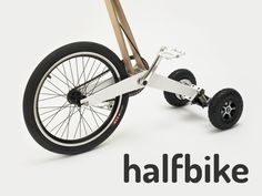Halfbike. /// I have knee problems which keep me from running, I wondered if this would be any better. Cycling also is quite intense, but I never had real issues when riding in a lower gear. Mh…
