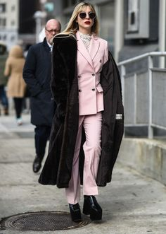 The Best NYFW Street Style From The Fall 2017 Season | StyleCaster