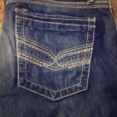 Mens BKE jeans Aiden BKE brand, a little worn but still in great condition BKE Jeans Boot Cut