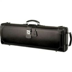 GL Pentagon Violin Case Black Leather