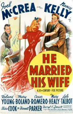 He Married His Wife. 1940