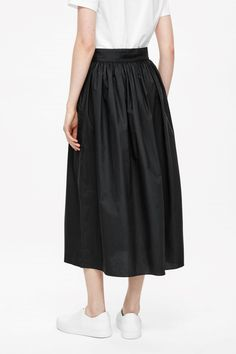 COS   Gathered cotton skirt