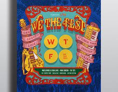 """Check out new work on my @Behance portfolio: """"WE THE FEST 2016 POSTER CONTEST""""…"""