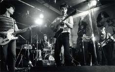 David Godlis ha fotografato la nascita della scena punk americana. I Talking Heads, CBGB, 1977.