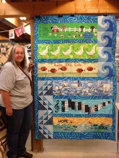 Row quilt Row Row Row, The Row, Panel Quilts, Quilt Blocks, Row By Row Experience, Landscape Quilts, License Plates, Applique Quilts, Quilt Making