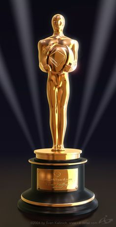 I will be awarded and win several Oscars for my achievement in the Motion Picture and Film Industry.