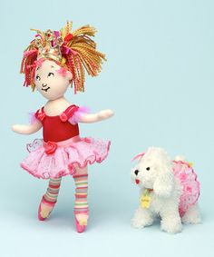 Take a look at this Fancy Nancy Ballerina & Frenchy Plush Toy Set by Madame Alexander on #zulily today!