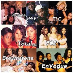 Girl groups of R&B