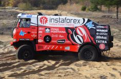 Instaforex Loprais Team - rebranding of the complete fleet, design and wrapping, design for racing car Tatra for Rally Dakar 2013 including wrap. Forex Trading, Rally, Race Cars, Wrapping, Trucks, Design, Drag Race Cars, Truck