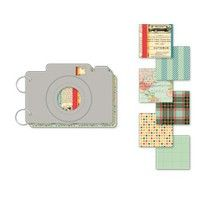 camera mini album: Boarding Pass Collection by October Afternoon {Two Peas}