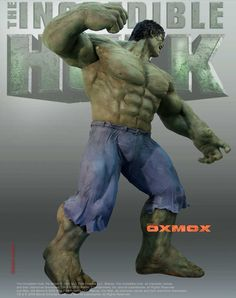 Life Size Statue of The Hulk