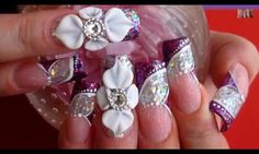 3d flowers on pink