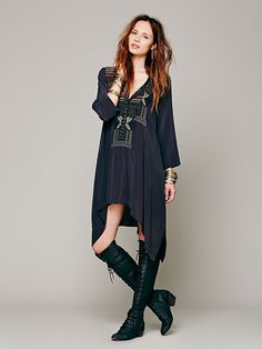 Biya Thalia Embroidered Tunic at Free People Clothing Boutique