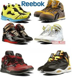 Marvel and Reebok Team Up to Make Sneakers. I think the DC Comics Converse look MUCH better, but the Emma ones, much as I loathe her, are kinda SWEET.