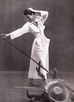 Couture Allure Vintage Fashion: Claire McCardell, 1949