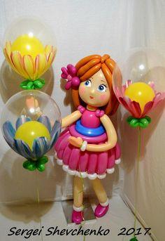 Мои изделия из воздушных шаров .