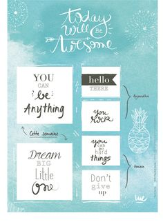 Free Printable Post It Note Planner