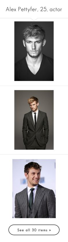 """""""Alex Pettyfer, 25, actor"""" by imkiary ❤ liked on Polyvore featuring alex pettyfer, people, characters, guys, men, actors, boys, men's fashion, men's clothing and alex"""