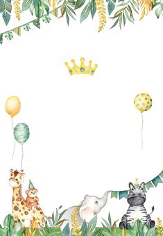 Safari animal birthday invitation template free wild one party animal safari birthday invitation zazzle com Jungle Theme Birthday, Animal Birthday, Baby Birthday, Free Birthday, Safari Invitations, 1st Birthday Invitations, Mexican Invitations, Mermaid Invitations, Wedding Invitations