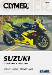 Clymer M266 Service Manual for 2005-06 Suzuki GSX-R1000