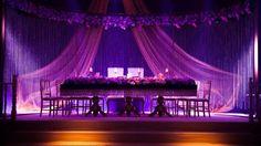 Wedding ceremony table at Çiragan Palace