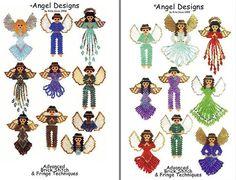 Beaded Angel Pattern Designs Book or CD by Rita Sova