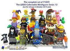 Figurine Minifig Minifigurine série 11 Lady Robot femme rose pink NEUF Lego