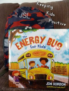 The Hardcover of the The Energy Bus for Kids: A Story about Staying Positive and Overcoming Challenges by Jon Gordon, Korey Scott Jon Gordon, Energy Bus, School Counselor, Elementary Counseling, Counseling Activities, Children Activities, Elementary Science, Elementary Music, Upper Elementary