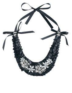 Adele Marie Jewelled Bib Necklace
