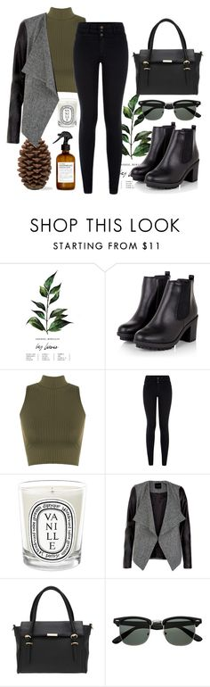 """Nameit #73"" by ericakslzr on Polyvore featuring WearAll, Diptyque and Fig+Yarrow"