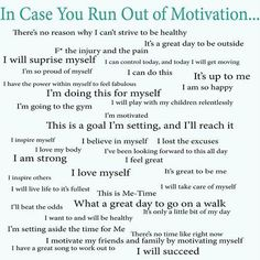 In case you run out of motivation | #quotes #affirmations #postiveselftalk