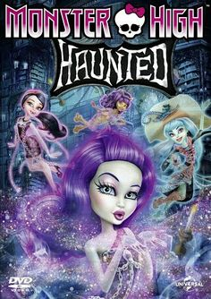 Movie #95: Monster High: Haunted.  2015 animated film.