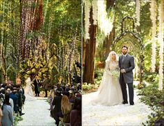 Completely over the top and out of budget, but a fun look at Sean Parker's woodland theme. Asked guests to dress in costumes created by the Lord of the Rings costumers :)