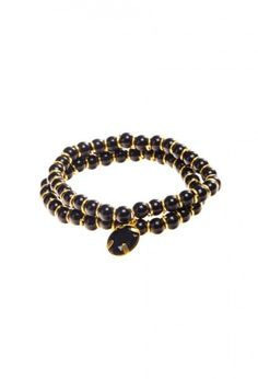 Yael G - Pulsera Duos Party negro