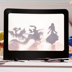 Théâtre d'ombres et ses marionnettes Oxybul pour enfant de 4 ans à 8 ans - Oxybul éveil et jeux