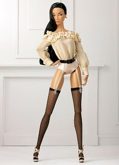 FR Monogram Discreet Basic Dressed Doll Fashion Royalty