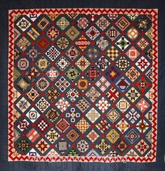 "Dianne Larson's ""Nearly Insane"" Scrap Quilt, posted by Nancy Zieman"