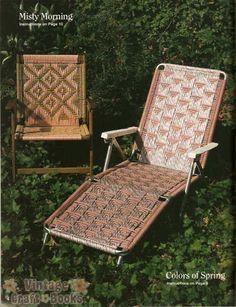 Macrame Chairs For The Seasons - Liz Miller
